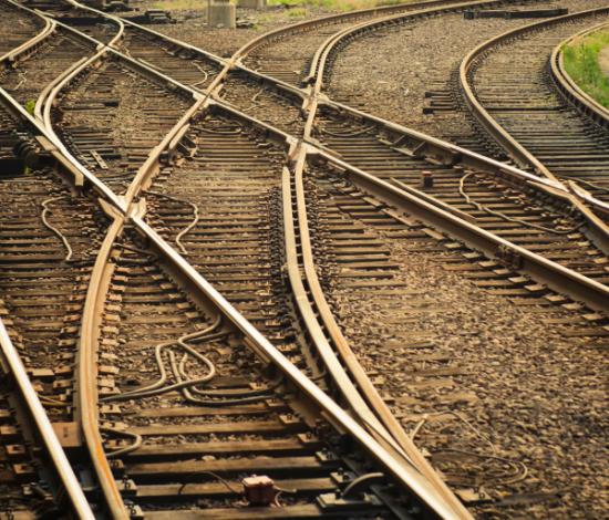 Image: Railroad Tracks crossing